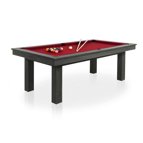 Pool Table Lafite Grey Pool Table Red / With Top Rene Pierre - Play Offside
