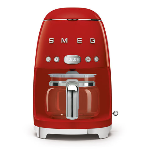 Coffee Machine Filter Coffee Machine Red Smeg - Play Offside