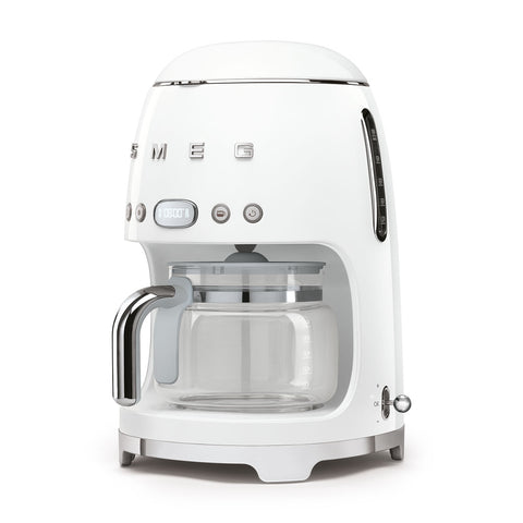 Coffee Machine Filter Coffee Machine White Smeg - Play Offside