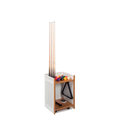 Cue Rack Diagonal Floor Cue Rack - Indoor White RS Barcelona - Play Offside
