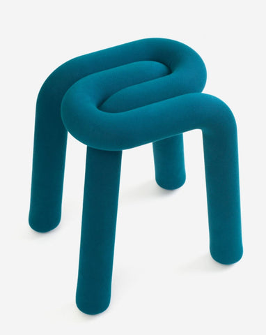 Stool Bold Stool Teal Moustache - Play Offside