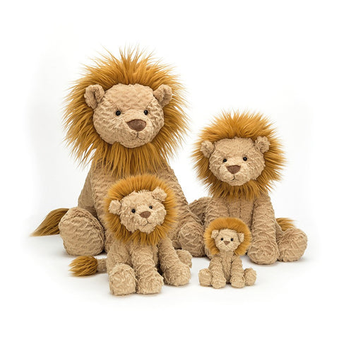 Teddybear Fuddlewuddle Lion Teddybear 12months Plus Jellycat - Play Offside
