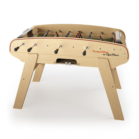 Football Table Competition Beautiful Beech Wood Football Table Rene Pierre - Play Offside