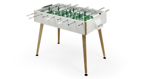 Football Table Flamingo Contemporary Looking Design Football Table White / Telescopic Fas Pendezza - Play Offside