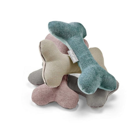 Dog Toy Dog Bone Toy Available in 4 colours Grey MiaCara - Play Offside