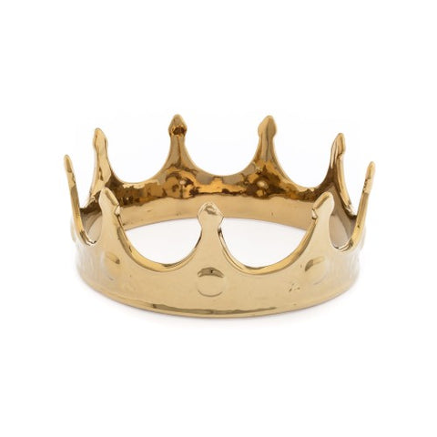 Object Gold Crown Made from Fine Porcelaine Seletti - Play Offside