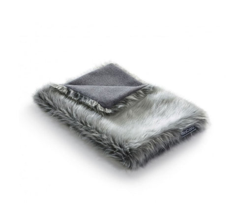 Pet Blanket Super-Soft Faux Fur Cat Blanket Lana Available in 3 colours Grey MiaCara - Play Offside