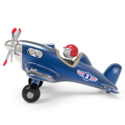 Children Toys Jet Plane Toy Blue Baghera - Play Offside