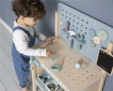 Child Toy Children's Wooden Workbench Suitable from 3 years Little Dutch - Play Offside