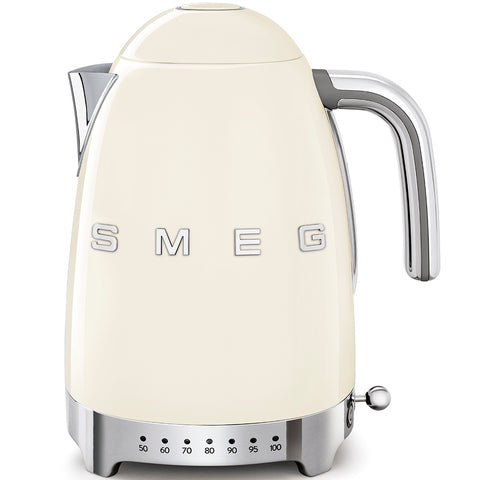 Kettle Kettle with Temperature Control Cream Smeg - Play Offside