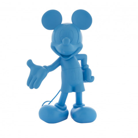Sculpture Mickey Welcome 30cm Figurine Fluo Blue LeblonDelienne - Play Offside