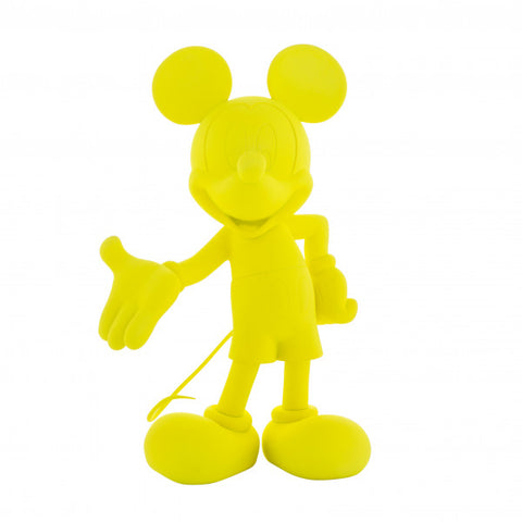 Sculpture Mickey Welcome 30cm Figurine Fluo Yellow LeblonDelienne - Play Offside