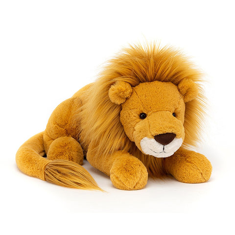 Teddybear Louie Lion Teddybear for 12m Plus Large Jellycat - Play Offside