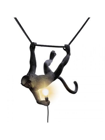 Lamp Outdoor/Indoor Monkey Swinging Lamp Seletti - Play Offside