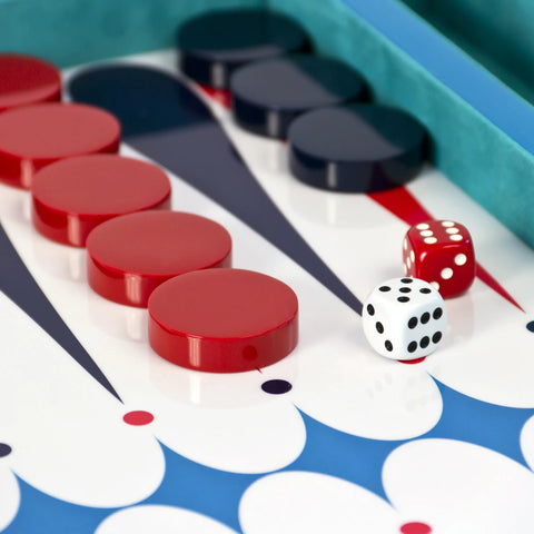 Backgammon Luxury Modern Design Backgammon Lacquer Jonathan Adler - Play Offside