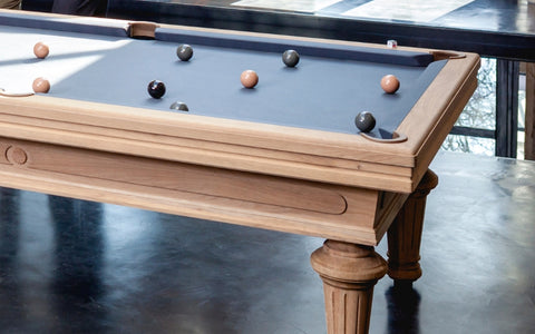 Pool Table Luxury Billiard / Pool Table 7Feet Empereur Vintage Billiard Toulet - Play Offside