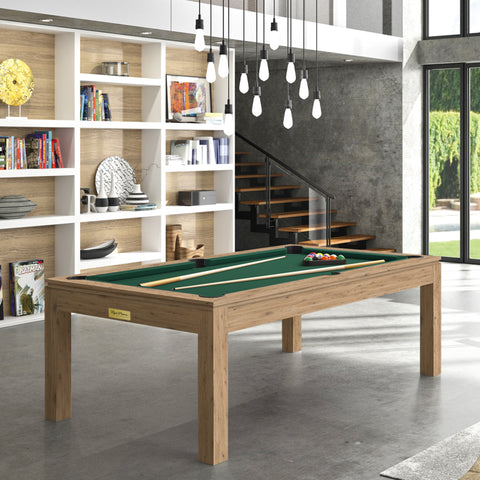 Pool Table Billiard Horizon Pool Table Oak Wood / English Green Rene Pierre - Play Offside