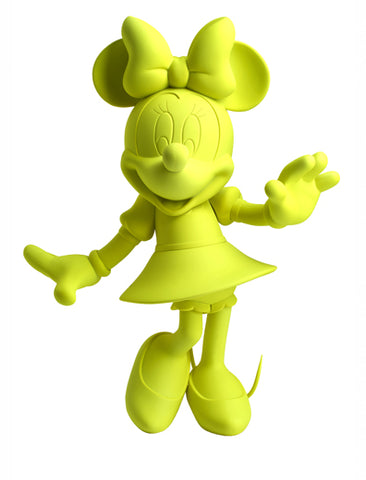 Sculpture Minnie Welcome 30cm Figurine Fluo Yellow LeblonDelienne - Play Offside