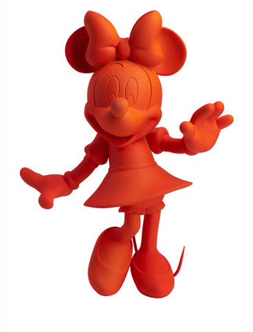 Sculpture Minnie Welcome 30cm Figurine Fluo Red/Orange LeblonDelienne - Play Offside