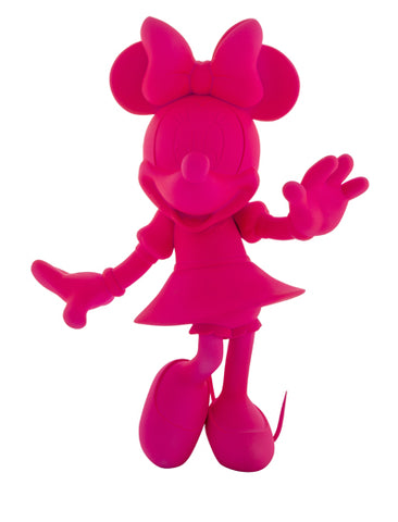 Sculpture Minnie Welcome 30cm Figurine Fluo Pink LeblonDelienne - Play Offside
