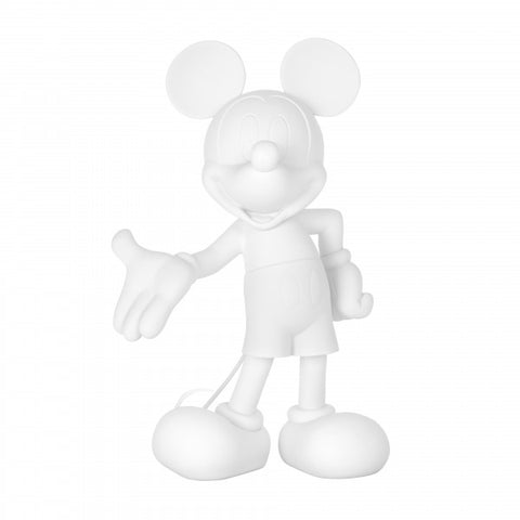 Sculpture Mickey Welcome 30cm Figurine Soft-Touch White LeblonDelienne - Play Offside