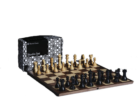 Chess Set Official World Chess Set - Foldable Chess Board World Chess - Play Offside