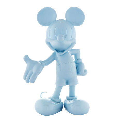 Sculpture Mickey Welcome 30cm Figurine Lacquered LightBlue LeblonDelienne - Play Offside