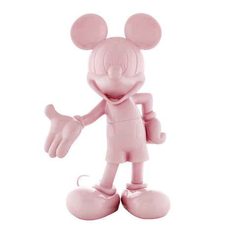 Sculpture Mickey Welcome 30cm Figurine Lacquered Pink LeblonDelienne - Play Offside