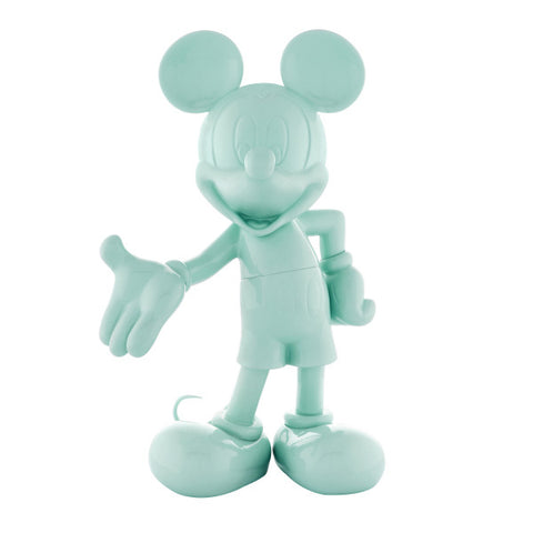 Sculpture Mickey Welcome 30cm Figurine Lacquered Turquoise LeblonDelienne - Play Offside