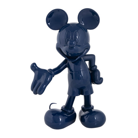 Sculpture Mickey Welcome 30cm Figurine Lacquered DarkBlue LeblonDelienne - Play Offside