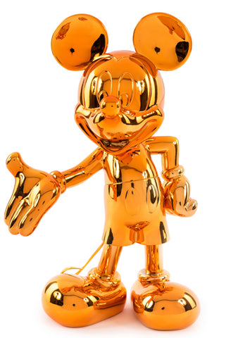 Sculpture Mickey Welcome 30cm Figurine Orange LeblonDelienne - Play Offside