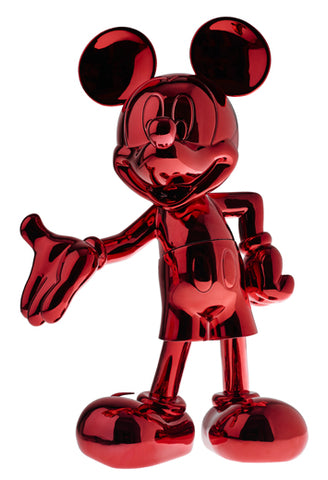 Sculpture Mickey Welcome 30cm Figurine Red LeblonDelienne - Play Offside