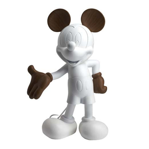 Sculpture Mickey Welcome 30cm Figurine Wood-effect LeblonDelienne - Play Offside