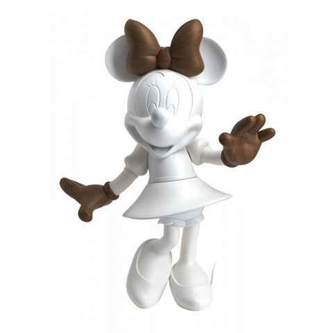 Sculpture Minnie Welcome 30cm Figurine Wood-effect LeblonDelienne - Play Offside