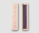 Mikado Colourful and Cool Design Pick up Sticks Game PrintWorksMarket - Play Offside