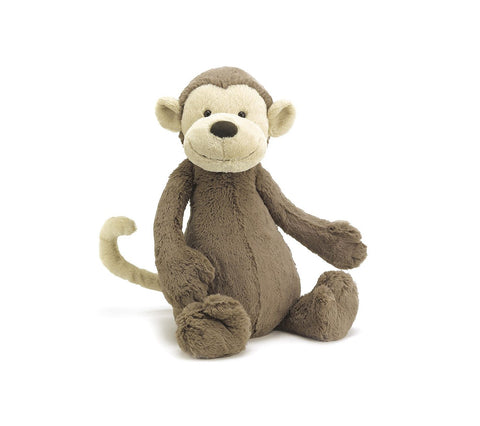 Teddybear Bashful Monkey Beautiful Baby Teddybear Suitable from Birth Jellycat - Play Offside