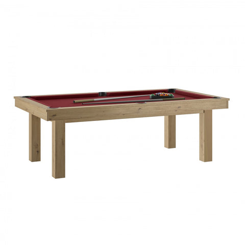 Pool Table Lafite Oak Pool Table Red / With Top Rene Pierre - Play Offside