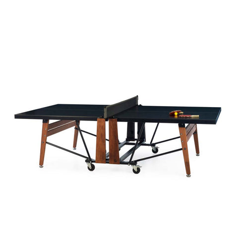 Ping-Pong Table Folding Design Ping-Pong Table Black RS Barcelona - Play Offside