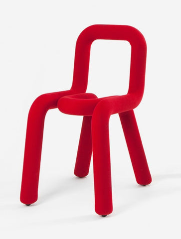 Chair Bold Chair Red Moustache - Play Offside