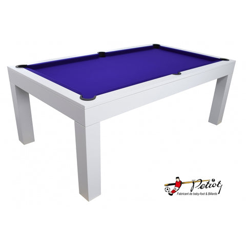 Pool Table White Pool Table Revolution 7 Feet Petiot - Play Offside