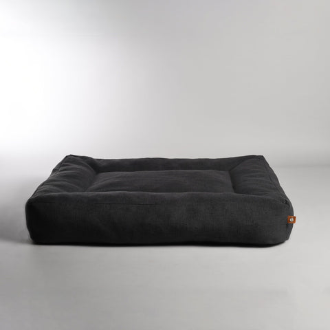 Dog Bed Luxury Dog Bed Oxford Available in 3 colours & 3 Sizes L / Black Lord Lou - Play Offside