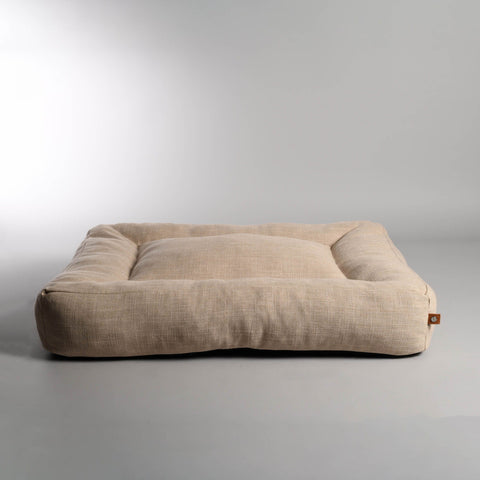 Dog Bed Luxury Dog Bed Oxford Available in 3 colours & 3 Sizes S / Beige Lord Lou - Play Offside