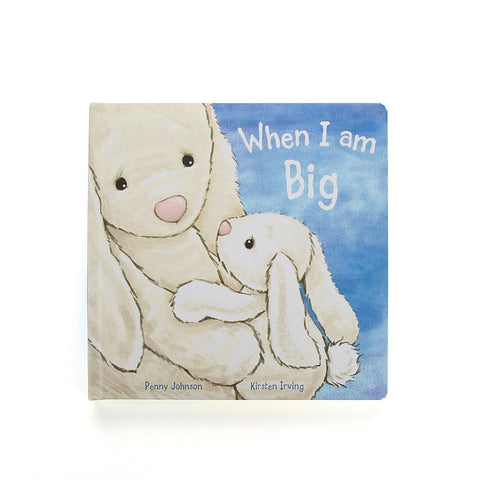 Teddybear & Book When I am big - Book & Bunny Teddybear Suitable from Birth Jellycat - Play Offside