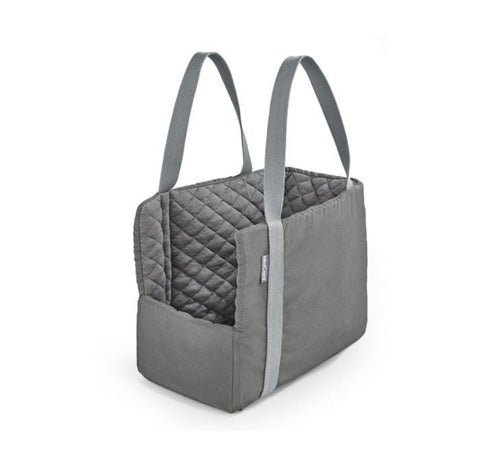 Dog Carrier Luxury Dog Carrier Via Available in 2 sizes & 3 colours Medium / Grey Fabric MiaCara - Play Offside