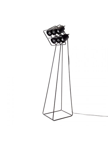 Lamp Movie Set Floor Lamp For Interior Available 2 Colours Black Seletti - Play Offside