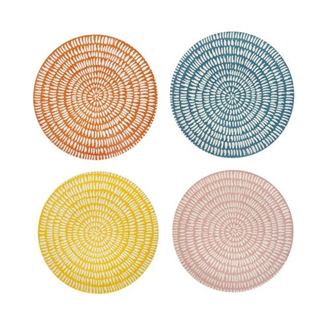 Plate Handpainted Set of 4 Side Plates Seeds Pols Potten - Play Offside