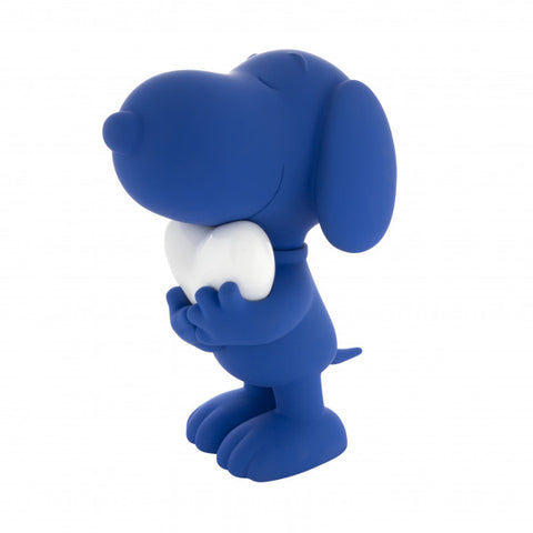 Figurine Snoopy with Heart 27cm Figurine Available in 5 Styles Blue LeblonDelienne - Play Offside