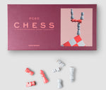 Chess Set Simple Design Red Coloured Foldable Chess Set PrintWorksMarket - Play Offside