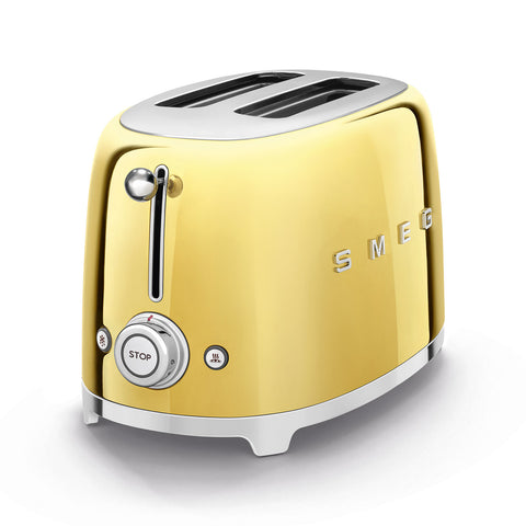 Toaster Two-slice Toaster Gold Smeg - Play Offside