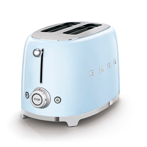 Toaster Two-slice Toaster Light Blue Smeg - Play Offside